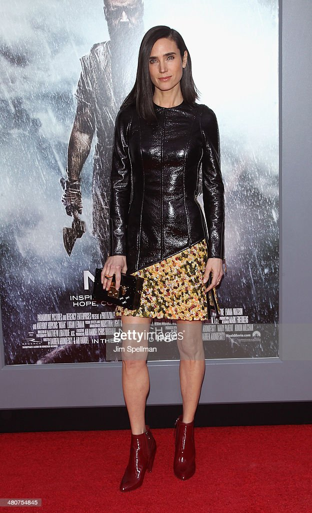 Actress <a gi-track='captionPersonalityLinkClicked' href=/galleries/search?phrase=Jennifer+Connelly&family=editorial&specificpeople=201581 ng-click='$event.stopPropagation()'>Jennifer Connelly</a> attends the 'Noah' New York Premiere at Ziegfeld Theatre on March 26, 2014 in New York City.