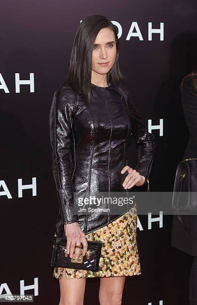 Actress Jennifer Connelly attends the 'Noah' New York Premiere at Ziegfeld Theatre on March 26 2014 in New York City