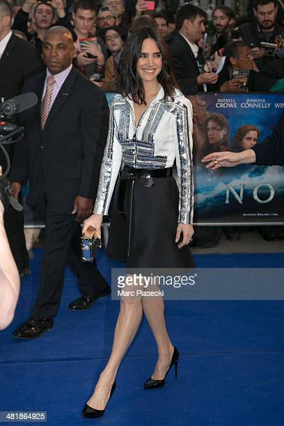 Actress Jennifer Connelly attends the 'Noah' Premiere at Cinema Gaumont Marignan on April 1 2014 in Paris France