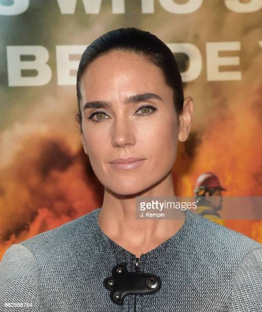 'NEW YORK NY OCTOBER 17 Actress Jennifer Connelly attends the 'Only The Brave' New York Screening at iPic Theater on October 17 2017 in New York City