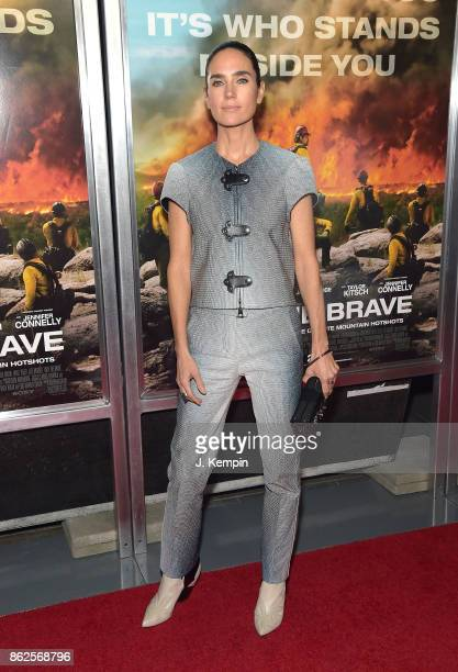 Actress Jennifer Connelly attends the 'Only The Brave' New York Screening at iPic Theater on October 17 2017 in New York City
