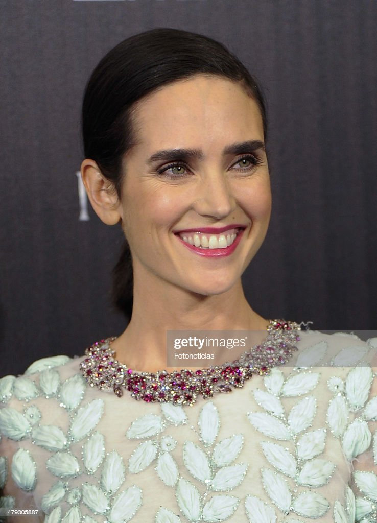Actress Jennifer Connelly attends the premiere of 'Noah' (Noe) at Palafox Cinema on March 17, 2014 in Madrid, Spain.