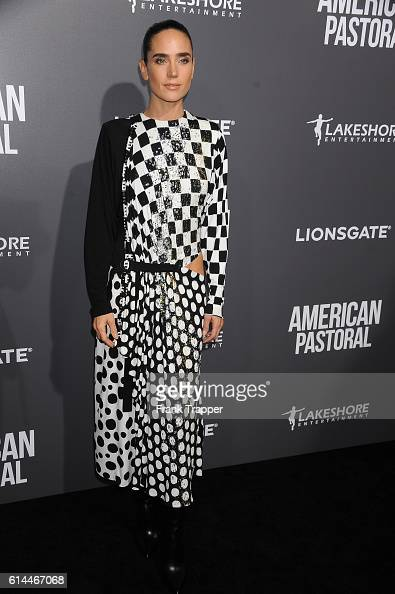 Actress Jennifer Connelly attends the special screening of Lionsgate's 'American Pastoral' held at The Samuel Goldwyn Theater on October 13 2016 in...