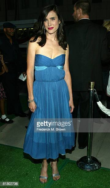 Actress Jennifer Connelly attends the world premiere of the Universal Feature 'Wimbledon' at the Academy of Motion Pictures Arts and Sciences on...