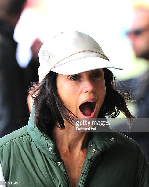 Actress Jennifer Connelly is seen on the set of 'Shelter'on September 27 2013 in New York City