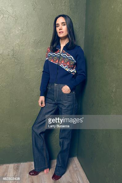Actress Jennifer Connelly of 'Aloft' poses for a portrait at the Village at the Lift Presented by McDonald's McCafe during the 2015 Sundance Film...