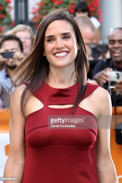 Actress Jennifer Connolly attends the 'Creation' premiere at the Roy Thomson Hall during the 2009 Toronto International Film Festival on September 10...