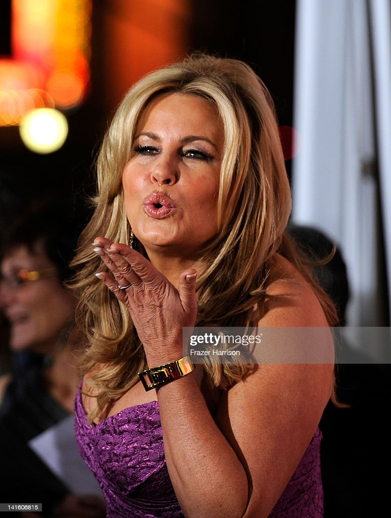 Actress Jennifer Coolidge arrives at the Premiere of Universal Pictures' 'American Reunion' at Grauman's Chinese Theatre on March 19 2012 in...