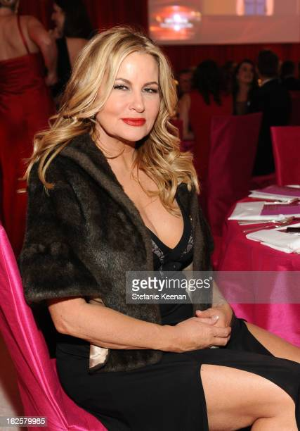 Actress Jennifer Coolidge attends Chopard at 21st Annual Elton John AIDS Foundation Academy Awards Viewing Party at West Hollywood Park on February...