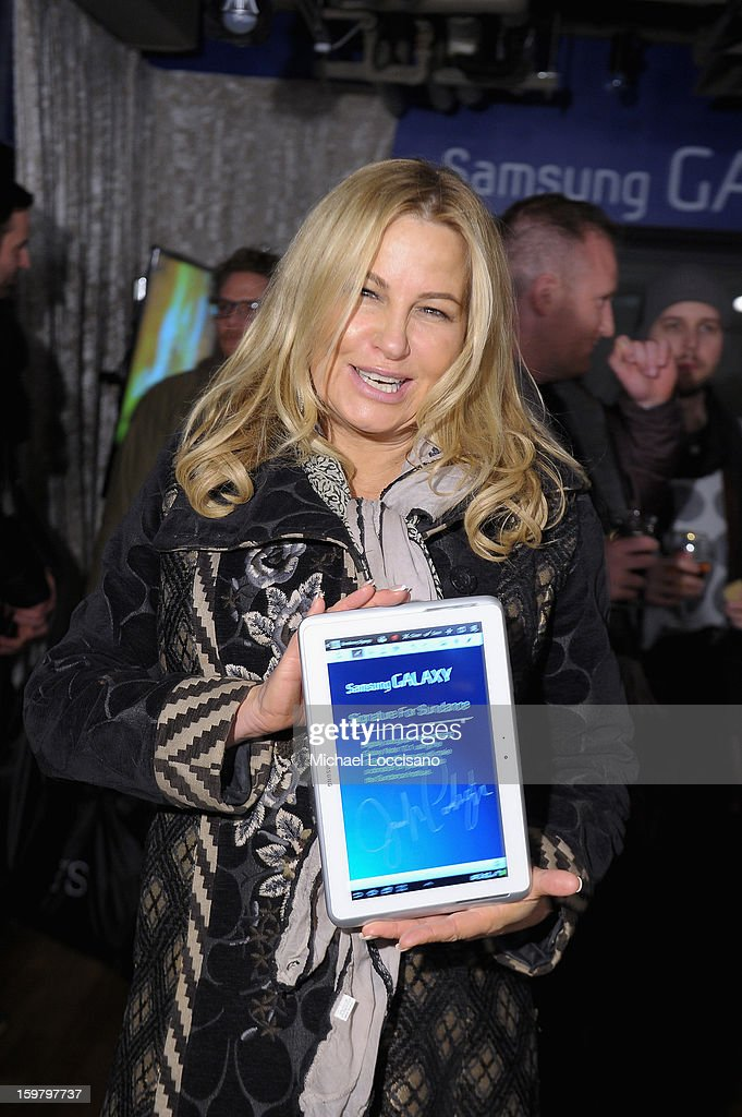 Actress Jennifer Coolidge attends Day 3 of Samsung Galaxy Lounge at Village At The Lift 2013 on January 20, 2013 in Park City, Utah.