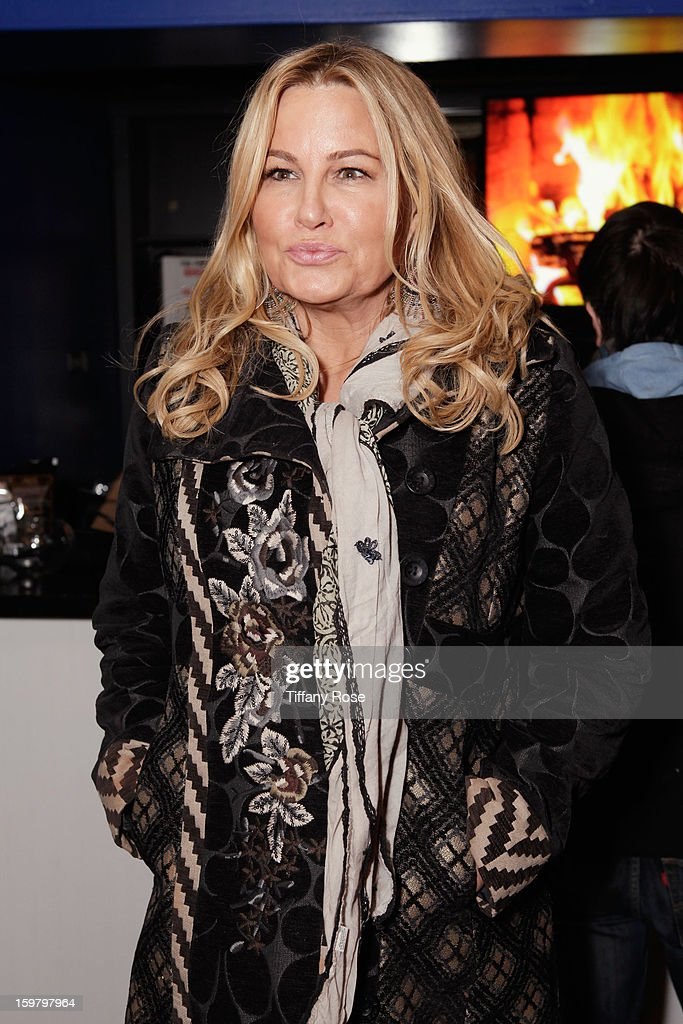 Actress <a gi-track='captionPersonalityLinkClicked' href=/galleries/search?phrase=Jennifer+Coolidge&family=editorial&specificpeople=239149 ng-click='$event.stopPropagation()'>Jennifer Coolidge</a> attends Day 3 of Tea of a Kind at Village At The Lift 2013 on January 20, 2013 in Park City, Utah.