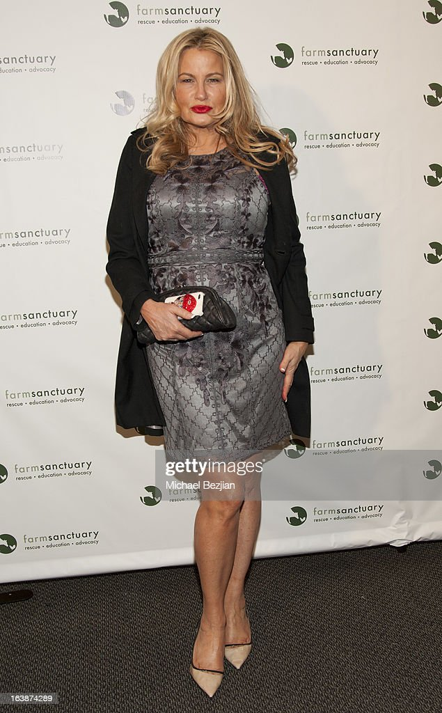 Actress Jennifer Coolidge attends 'Fun For Animals' Celebrity Poker Tournament and Cocktail Party at Petersen Automotive Museum on March 16, 2013 in Los Angeles, California.
