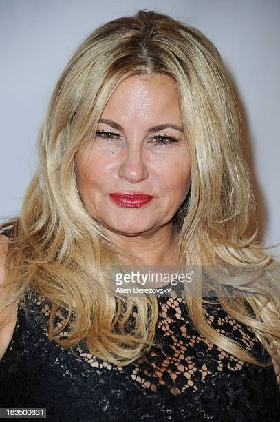 Actress Jennifer Coolidge attends the 11th annual Best in Drag show benefiting Aid for AIDS Alliance for Housing and Healing at Orpheum Theatre on...