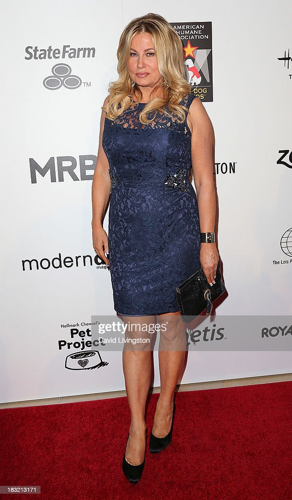 Actress <a gi-track='captionPersonalityLinkClicked' href=/galleries/search?phrase=Jennifer+Coolidge&family=editorial&specificpeople=239149 ng-click='$event.stopPropagation()'>Jennifer Coolidge</a> attends the 3rd Annual American Humane Association Hero Dog Awards at The Beverly Hilton Hotel on October 5, 2013 in Beverly Hills, California.