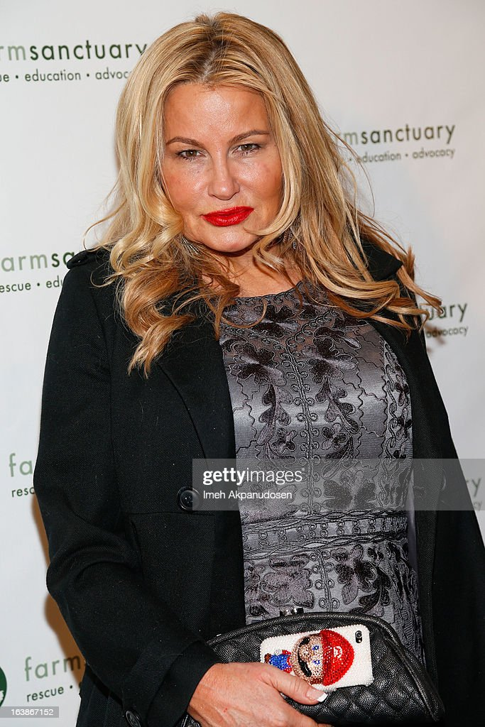Actress Jennifer Coolidge attends the Fun For Animals Celebrity Poker Tournament & Cocktail Party at Petersen Automotive Museum on March 16, 2013 in Los Angeles, California.