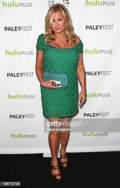 Actress Jennifer Coolidge attends The Paley Center For Media's PaleyFest 2013 honoring '2 Broke Girls' at the Saban Theatre on March 14 2013 in...