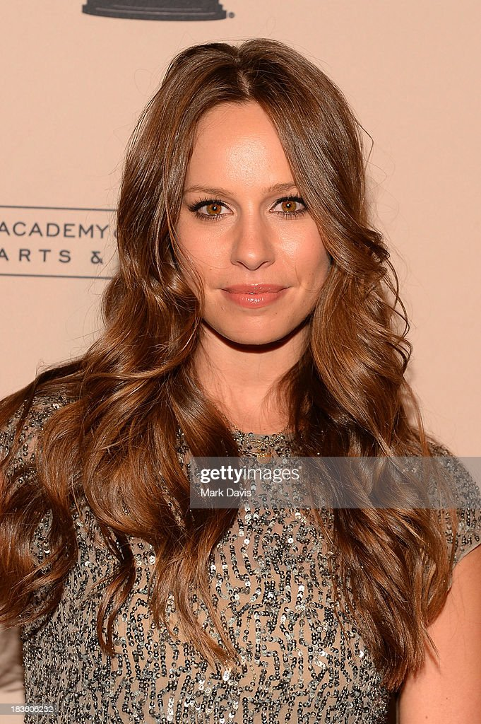 Actress Jennifer Corby attends The Academy Of Television Arts & Sciences' Presents An Evening Honoring James Burrows held at the Academy of Television Arts & Sciences on October 7, 2013 in North Hollywood, California.