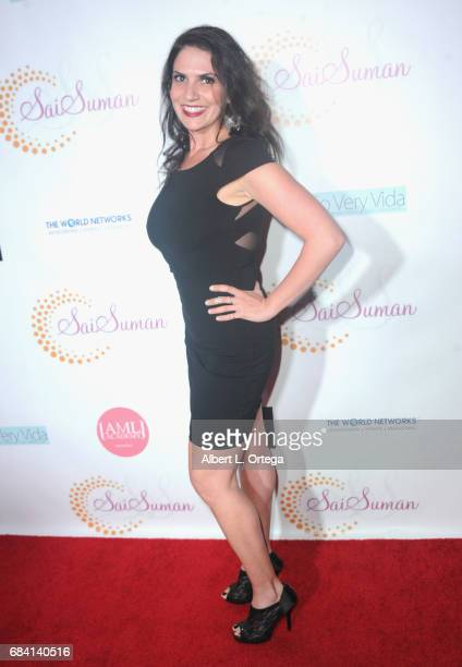 Actress Jennifer Durst at Sai Suman's Official Hollywood Runway Fashion Show held at Sofitel Hotel on April 11 2017 in Los Angeles California
