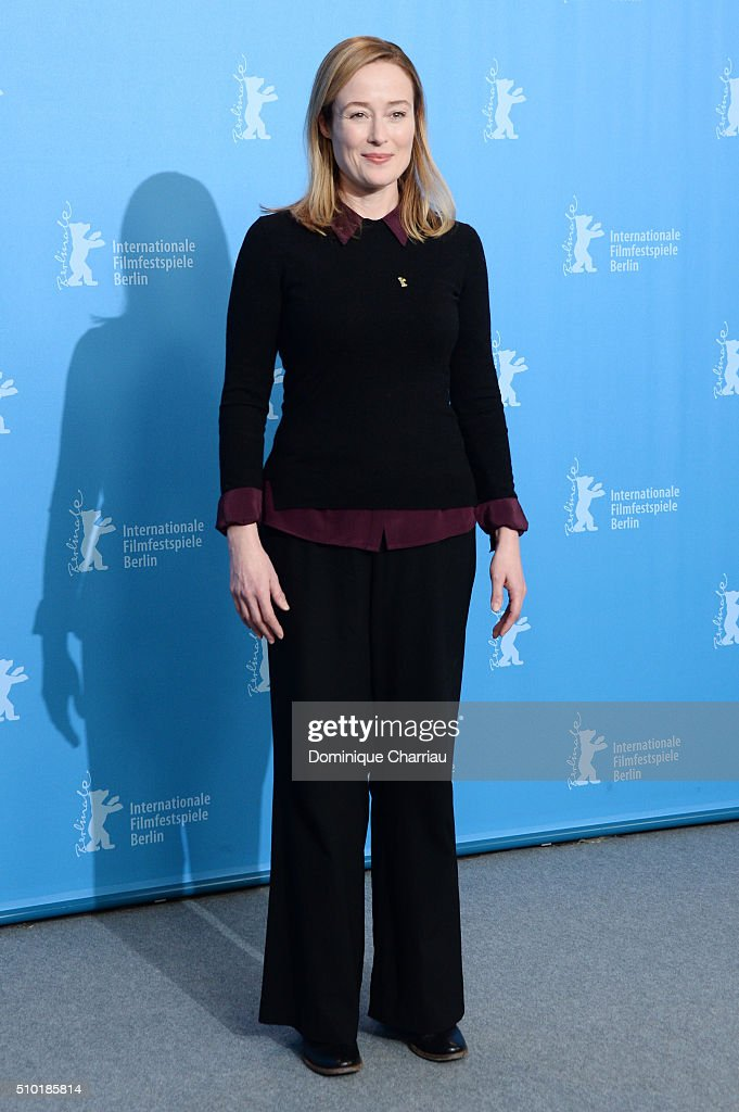 Actress <a gi-track='captionPersonalityLinkClicked' href=/galleries/search?phrase=Jennifer+Ehle&family=editorial&specificpeople=776571 ng-click='$event.stopPropagation()'>Jennifer Ehle</a> attends the 'A Quiet Passion' photo call during the 66th Berlinale International Film Festival Berlin at Grand Hyatt Hotel on February 14, 2016 in Berlin, Germany.