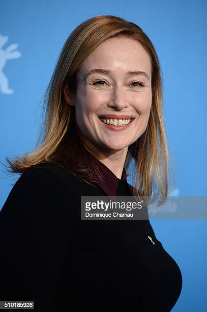 Actress Jennifer Ehle attends the 'A Quiet Passion' photo call during the 66th Berlinale International Film Festival Berlin at Grand Hyatt Hotel on...