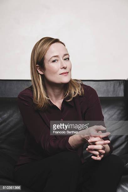 Actress Jennifer Ehle is photographed for Self Assignment on February 14 2016 in Berlin Germany