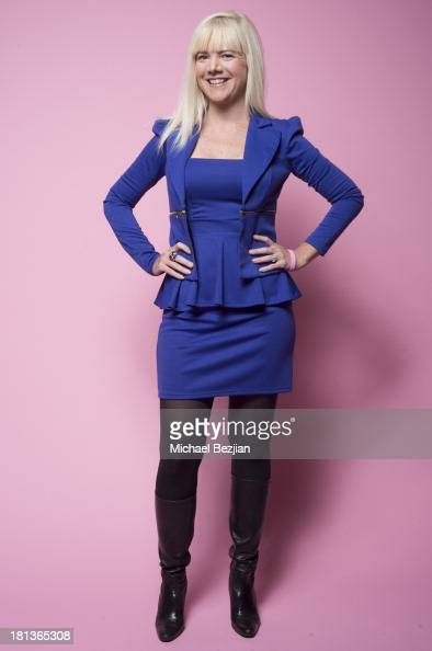 Actress Jennifer Elise Cox poses for a portrait at the Mark Kearney Group 'Iced Out' Luxury Emmy Suite on September 20 2013 in Los Angeles California