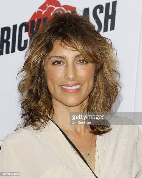 Actress Jennifer Esposito attends the 'Ricki And The Flash' New York premiere at AMC Lincoln Square Theater on August 3 2015 in New York City