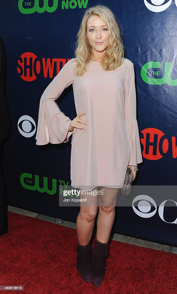 Actress Jennifer Finnigan arrives at CBS, CW And Showtime 2015 Summer TCA Party at Pacific Design Center on August 10, 2015 in West Hollywood, California.
