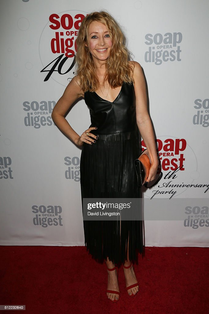 Actress Jennifer Finnigan arrives at the 40th Anniversary of the Soap Opera Digest at The Argyle on February 24, 2016 in Hollywood, California.