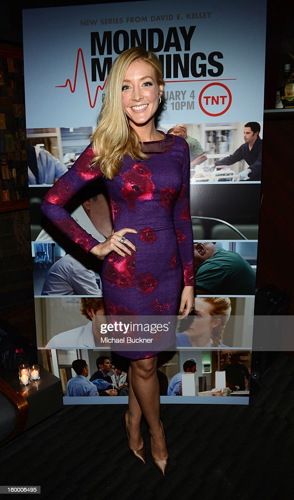 Actress Jennifer Finnigan attends 'Monday Mornings' Premiere Reception at at BOA Steakhouse on January 24, 2013 in West Hollywood, California. (Photo by Michael Buckner/WireImage) 23200_001_MB_0067.jpg