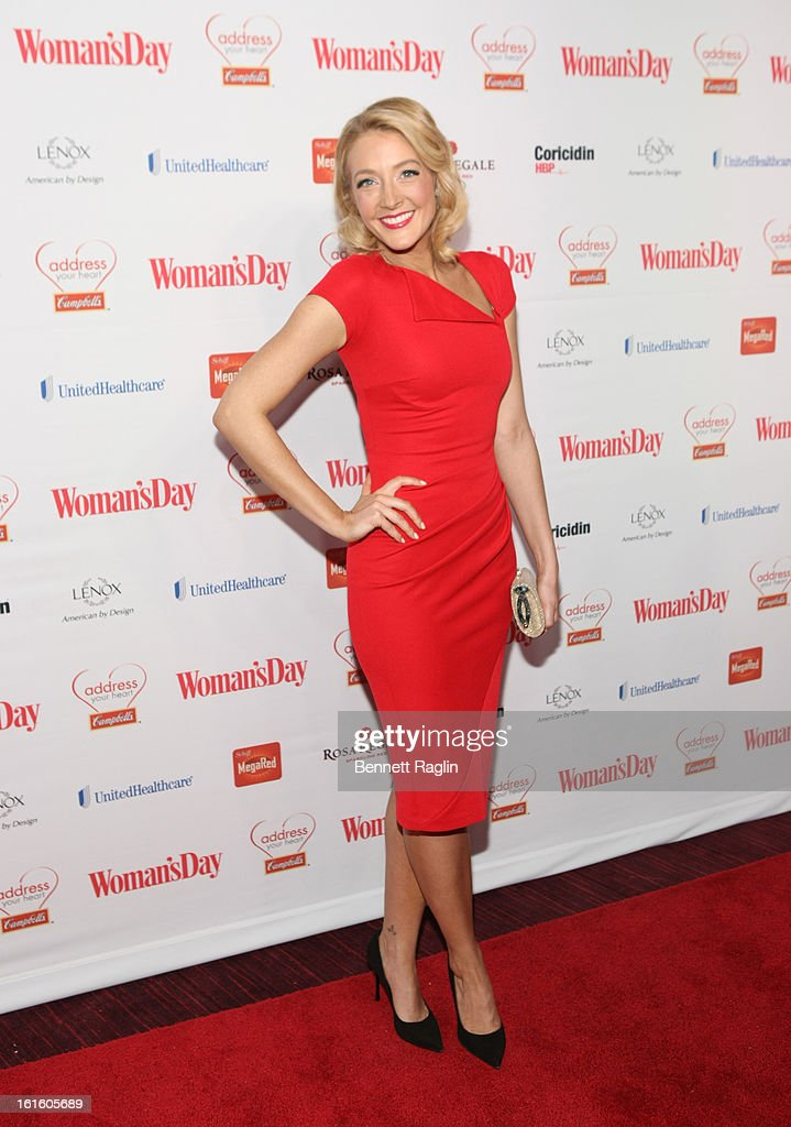 Actress Jennifer Finnigan attends the 10th Annual Red Dress Awards at Jazz at Lincoln Center on February 12, 2013 in New York City.