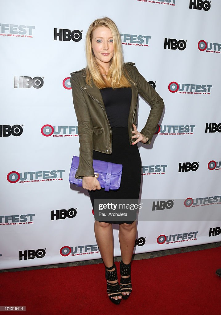 Actress Jennifer Finnigan attends the screening of 'G.B.F.' at the 2013 Outfest film festival closing night gala at the Ford Theatre on July 21, 2013 in Hollywood, California.