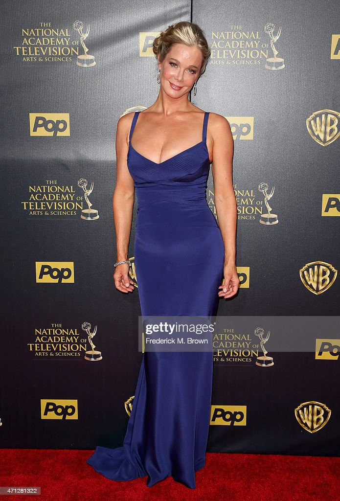 Actress Jennifer Gareis attends The 42nd Annual Daytime Emmy Awards at Warner Bros. Studios on April 26, 2015 in Burbank, California.
