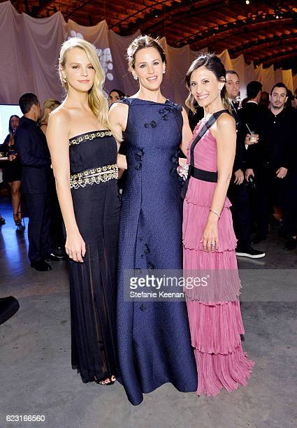 Actress Jennifer Garner and copresidents of Baby2Baby Kelly Sawyer Patricof and Norah Weinstein attend the Fifth Annual Baby2Baby Gala Presented By...