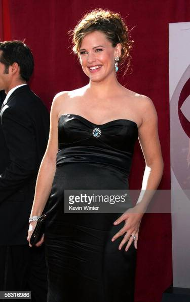 Actress Jennifer Garner arrives at the 57th Annual Emmy Awards held at the Shrine Auditorium on September 18 2005 in Los Angeles California According...