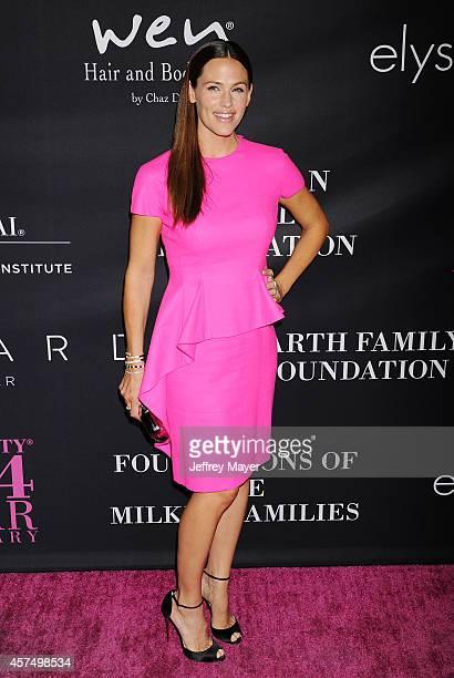 Actress Jennifer Garner attends Elyse Walker presents the 10th anniversary Pink Party hosted by Jennifer Garner and Rachel Zoe at HANGAR 8 on October...