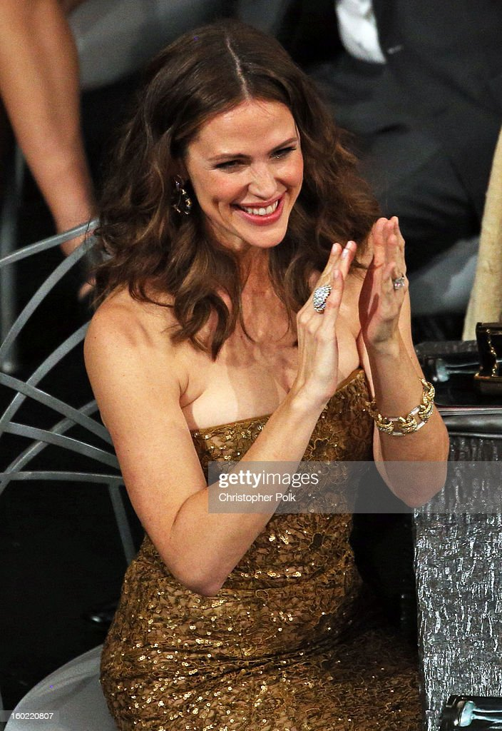 Actress Jennifer Garner attends the 19th Annual Screen Actors Guild Awards at The Shrine Auditorium on January 27, 2013 in Los Angeles, California. (Photo by Christopher Polk/WireImage) 23116_012_1454.JPG