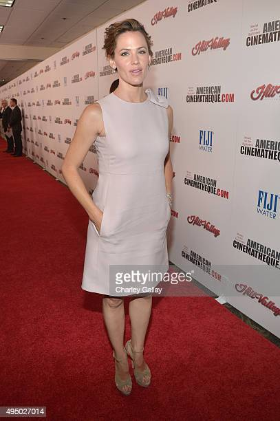 Actress Jennifer Garner attends the 29th American Cinematheque Award honoring Reese Witherspoon at the Hyatt Regency Century Plaza on October 30 2015...