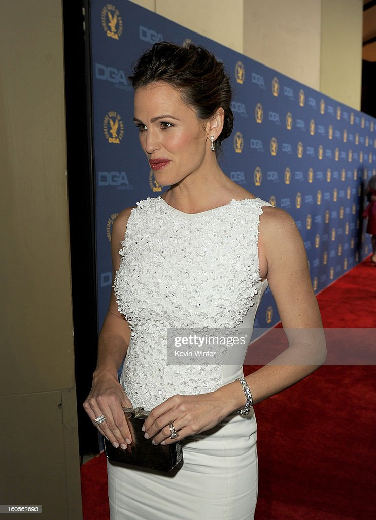 Actress Jennifer Garner attends the 65th Annual Directors Guild Of America Awards at Ray Dolby Ballroom at Hollywood & Highland on February 2, 2013 in Los Angeles, California.