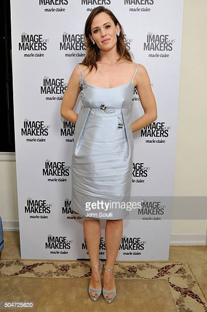 Actress Jennifer Garner attends the inaugural Image Maker Awards hosted by Marie Claire at Chateau Marmont on January 12 2016 in Los Angeles...