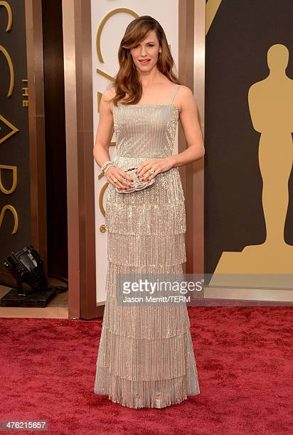 Actress Jennifer Garner attends the Oscars held at Hollywood Highland Center on March 2 2014 in Hollywood California