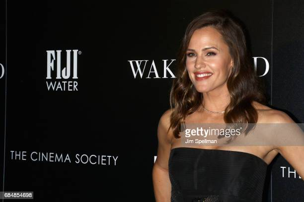 Actress Jennifer Garner attends the screening of IFC Films' 'Wakefield' hosted by The Cinema Society at Landmark Sunshine Cinema on May 18 2017 in...