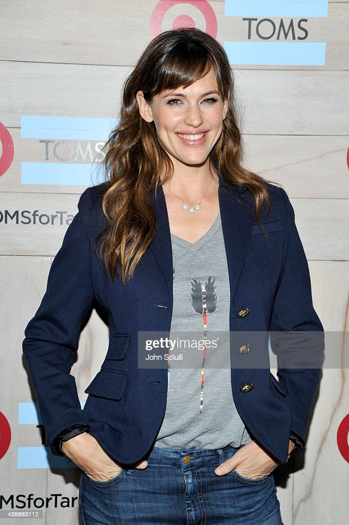 Actress Jennifer Garner attends the TOMS for Target Launch Event at Book Bindery on November 12 2014 in Culver City California