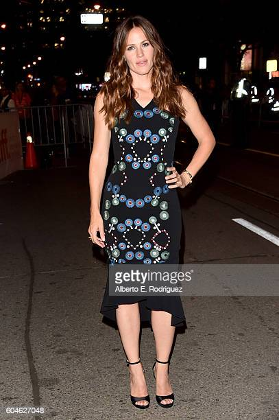 Actress Jennifer Garner attends the 'Wakefield' premiere during the 2016 Toronto International Film Festival at Princess of Wales Theatre on...