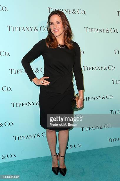 Actress Jennifer Garner celebrates the unveiling of the renovated Tiffinay Co Beverly Hills store at Tiffany Co on October 13 2016 in Beverly Hills...