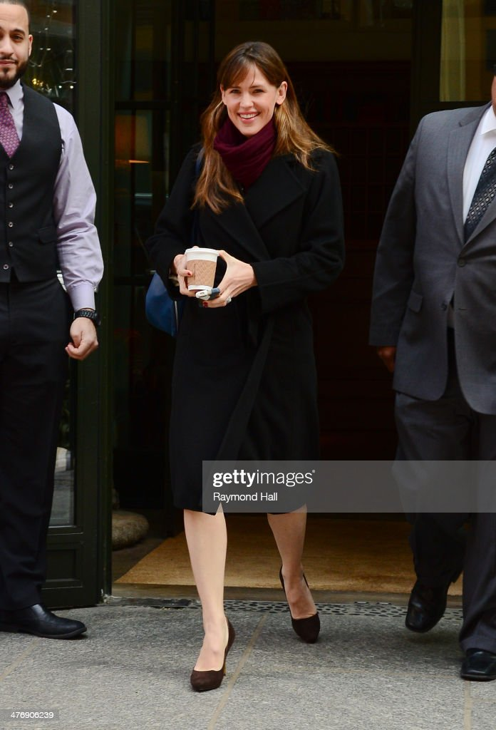 Actress <a gi-track='captionPersonalityLinkClicked' href=/galleries/search?phrase=Jennifer+Garner&family=editorial&specificpeople=201813 ng-click='$event.stopPropagation()'>Jennifer Garner</a> is seen is seen in Soho on March 5, 2014 in New York City.