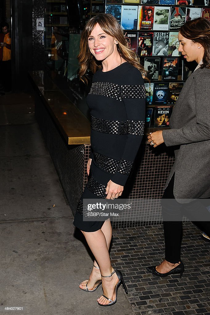 Actress Jennifer Garner is seen on April 10, 2014 in New York City.