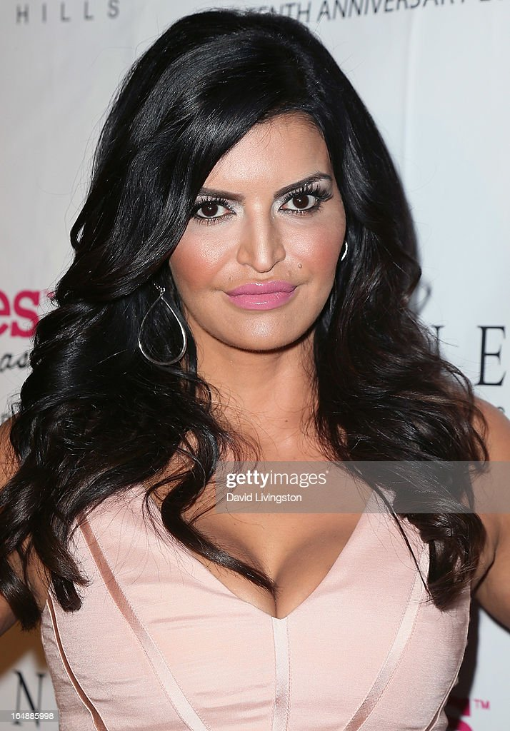Actress Jennifer Gimenez attends the 'Pieces (of Ass)' opening night Los Angeles performance at The Fonda Theatre on March 28, 2013 in Los Angeles, California.
