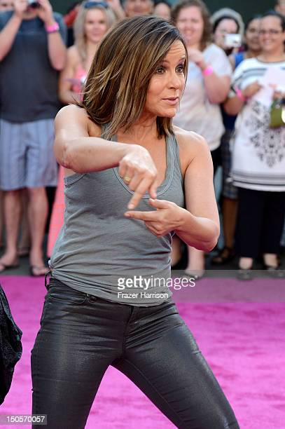 Actress Jennifer Grey arrives at the 25th Anniversary Of Lionsgate's 'Dirty Dancing' screening at Grauman's Chinese Theatre on August 21 2012 in...