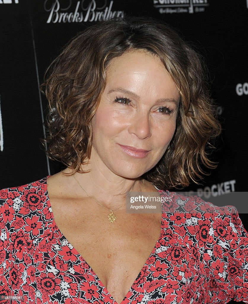 Actress <a gi-track='captionPersonalityLinkClicked' href=/galleries/search?phrase=Jennifer+Grey&family=editorial&specificpeople=220265 ng-click='$event.stopPropagation()'>Jennifer Grey</a> arrives at the premiere of IFC Films' 'God's Pocket' at LACMA on May 1, 2014 in Los Angeles, California.